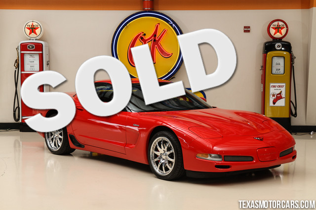 2004 Chevrolet Corvette Z06 This Carfax 1-Owner 2004 Chevrolet Corvette Z06 is in great shape with