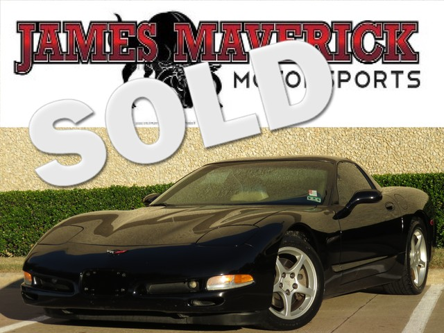 2004 Chevrolet Corvette Coupe The ever popular Corvette with removable hard top is back This rid