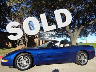 2004 Chevrolet Corvette Convertible Commemorative Edition, Only 20k! Dallas, Texas