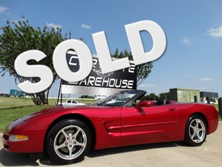 2004 Chevrolet Corvette Convertible 1SB, HUD, F55, Polished, Only 22k! Dallas, Texas