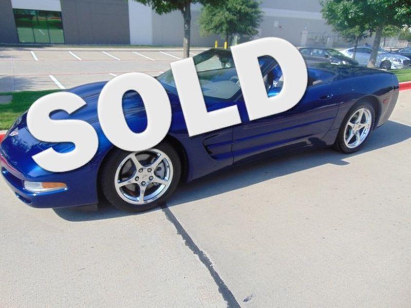 2004 Chevrolet Corvette 34,651 ORIGINAL MILES COMMEMORATIVE CV   Grapevine, TX   Corvette Center Dallas in Grapevine TX