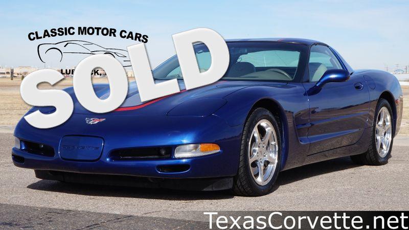 2004 Chevrolet Corvette Commemorative Edition | Lubbock, Texas | Classic Motor Cars