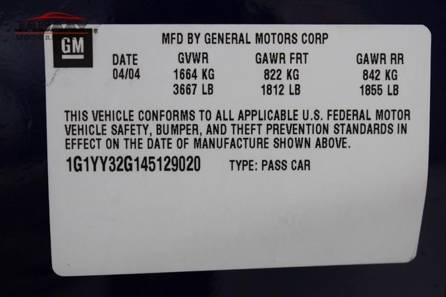 2004 Chevrolet Corvette Commemorative Edition Merrillville, Indiana 51