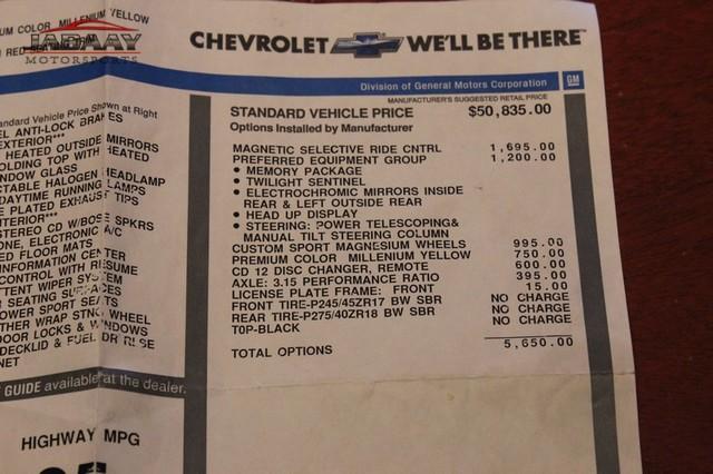 2004 Chevrolet Corvette Merrillville, Indiana 52