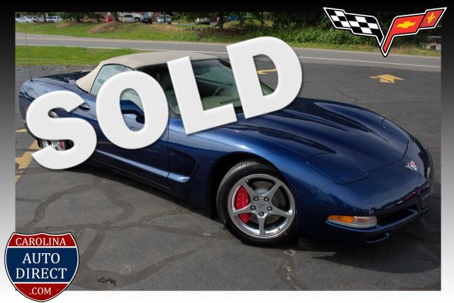 2004 Chevrolet Corvette SHALE COMMEMORATIVE EDITION - 1SC TOP OF THE LINE! Mooresville , NC 0
