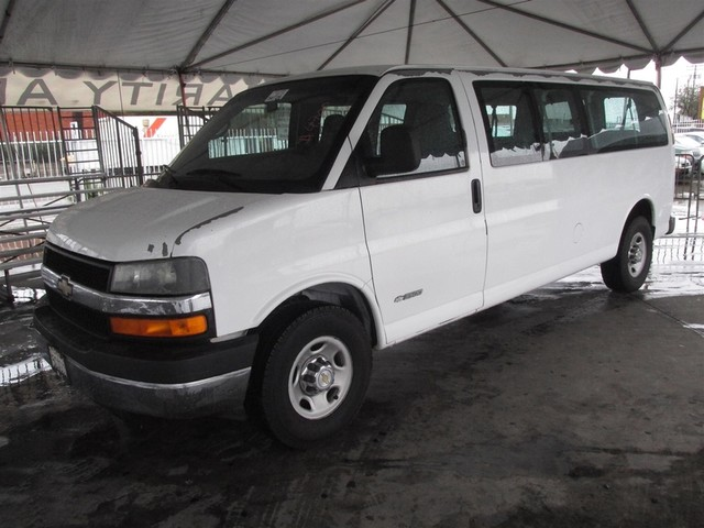 2004 Chevrolet Express Passenger This particular Vehicle comes with 4th Row Seat Please call or e