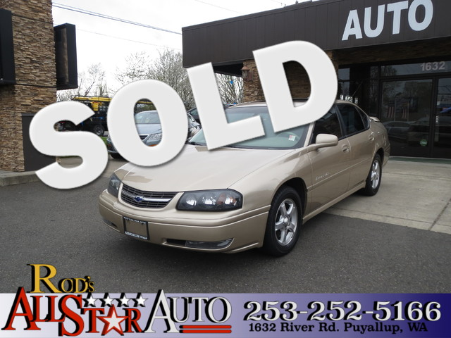 2004 Chevrolet Impala LS The CARFAX Buy Back Guarantee that comes with this vehicle means that you