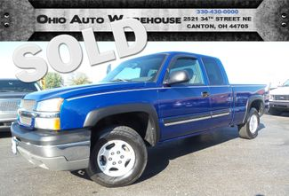 2004 Chevrolet Silverado 1500 4x4 Z71 V8 Clean Carfax We Finance | Canton, Ohio | Ohio Auto Warehouse LLC in  Ohio