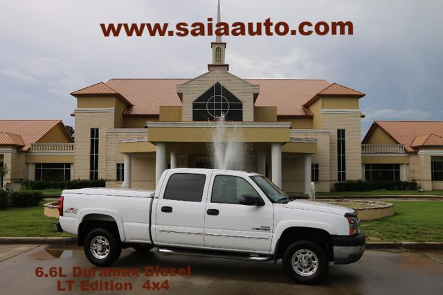 2004 Chevrolet 2500 Hd Crew Cab 4wd Lt Duramax Diesel LEATHER BOSE PWR HEATED SEATS BED COVER LOADED UNICORN ONE OWNER LOW MILES READY TO GEAUX | Baton Rouge , Louisiana | Saia Auto Consultants LLC in Baton Rouge  Louisiana