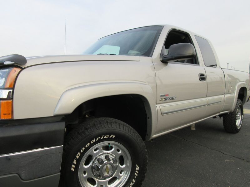 2004 Chevrolet Silverado 2500HD Ext Cab 4X4 66L Duramax  Fultons Used Cars Inc  in , Colorado