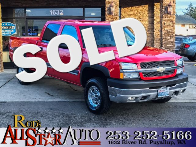 2004 Chevrolet Silverado 2500HD 4WD This vehicle is a CarFax certified one-owner used car Pre-own