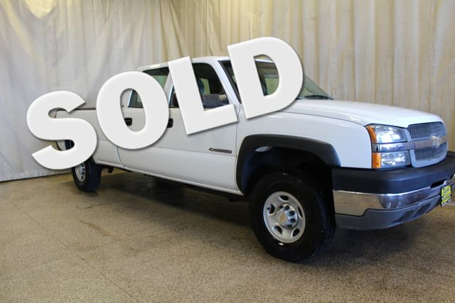 2004 Chevrolet Silverado 2500HD long bed Work Truck Roscoe, Illinois 0