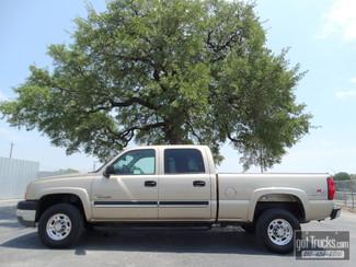 2004 Chevrolet Silverado 2500HD Crew Cab 6.6L Duramax Diesel 4X4 in San Antonio Texas
