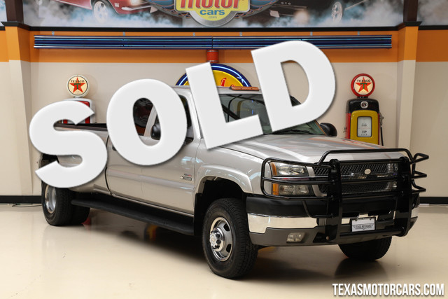 2004 Chevrolet Silverado 3500 DRW This 2004 Chevrolet Silverado 3500 DRW is in great shape with on