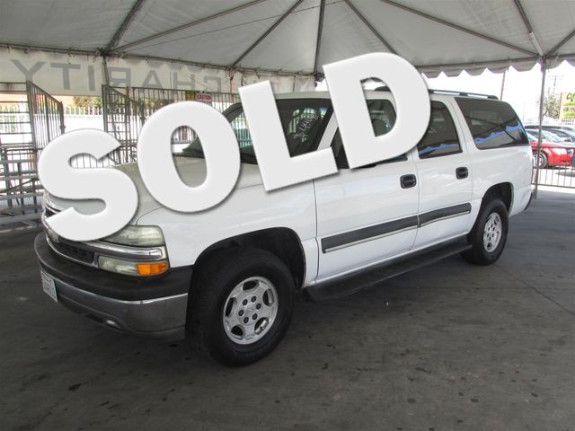 2004 Chevrolet Suburban LS This particular Vehicles true mileage is unknown TMU Please call or