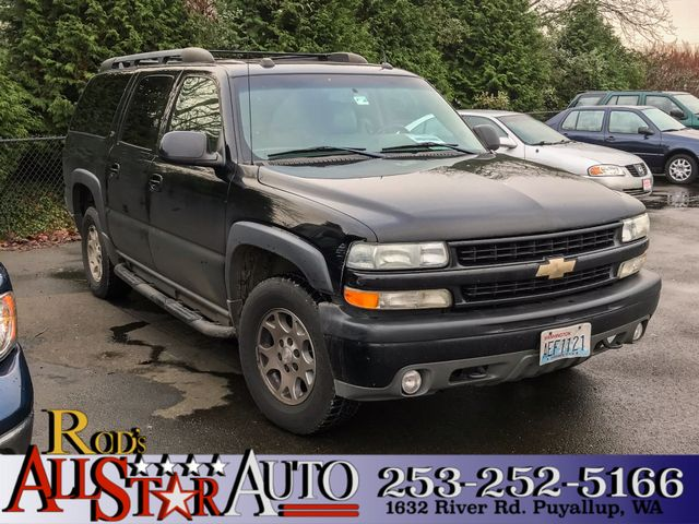 2004 Chevrolet Suburban Z71 4WD The CARFAX Buy Back Guarantee that comes with this vehicle means t
