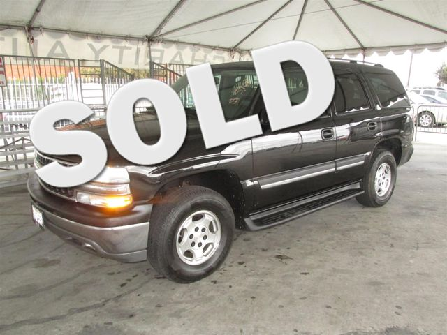 2004 Chevrolet Tahoe LS This particular Vehicle comes with 3rd Row Seat Please call or e-mail to