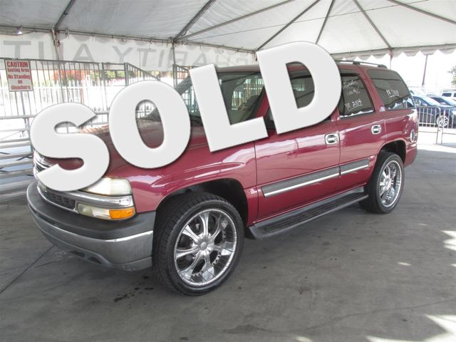 2004 Chevrolet Tahoe LS Please call or e-mail to check availability All of our vehicles are ava