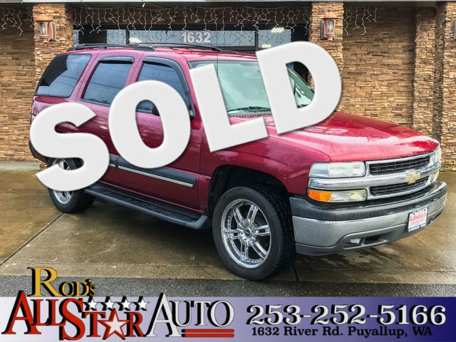 2004 Chevrolet Tahoe LS The CARFAX Buy Back Guarantee that comes with this vehicle means that you