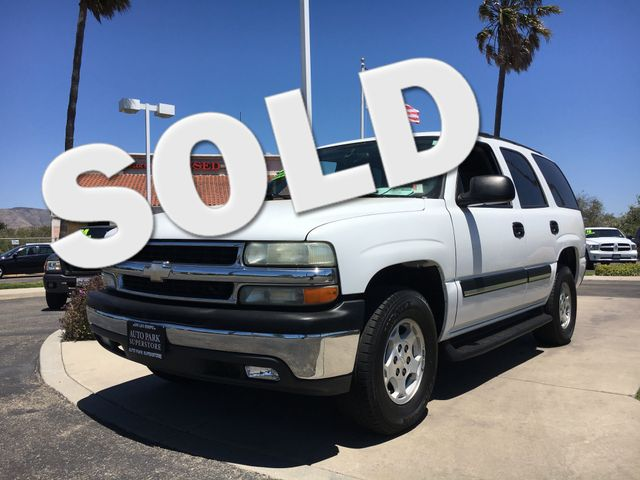 2004 Chevrolet Tahoe LS Get the horse power and the tow capacity you need with powerful V8 engine
