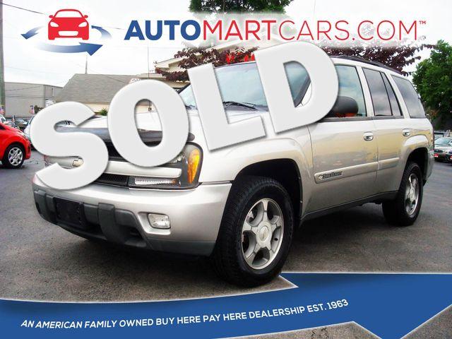 2004 Chevrolet TrailBlazer LT | Nashville, Tennessee | Auto Mart Used Cars Inc. in Nashville Tennessee