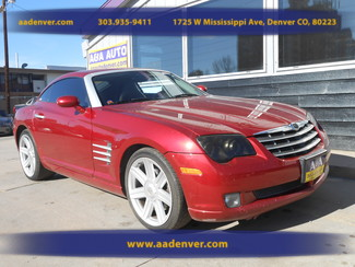 2004 Chrysler Crossfire LIMITED 6 Speed | Denver, CO | A&A Automotive of Denver in Denver, Littleton, Englewood, Aurora, Lakewood, Morrison, Brighton, Fort Lupton, Longmont, Montbello, Commerece City CO