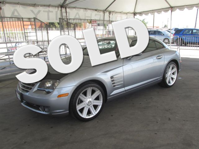 2004 Chrysler Crossfire Please call or e-mail to check availability All of our vehicles are ava