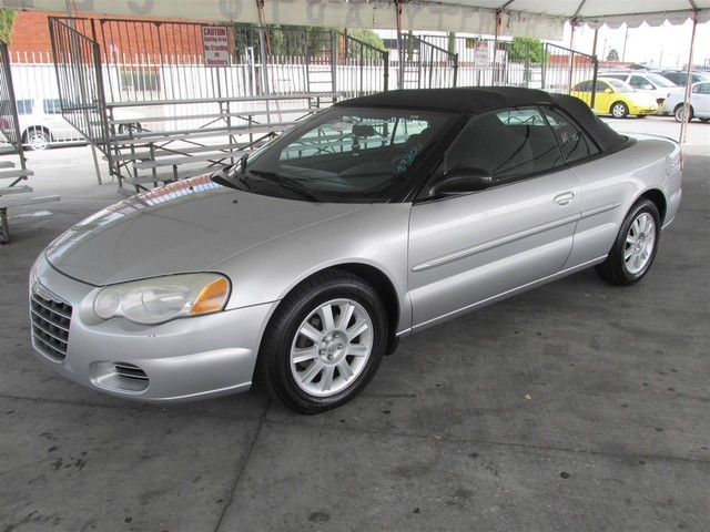 2004 Chrysler Sebring GTC Please call or e-mail to check availability All of our vehicles are a