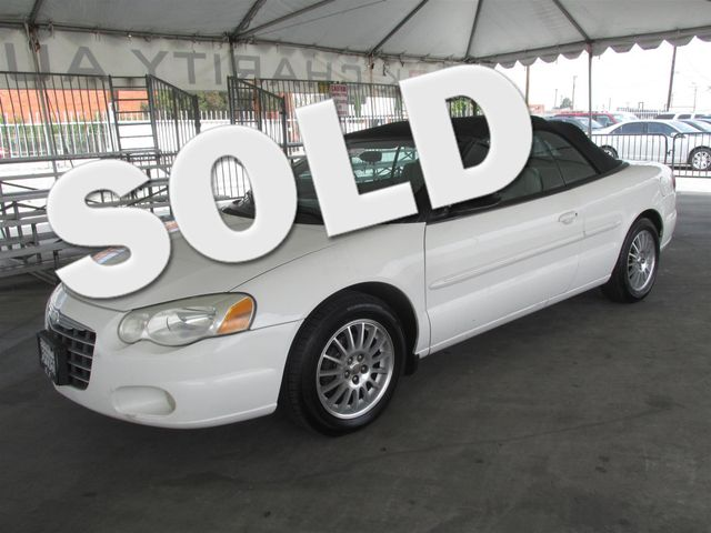 2004 Chrysler Sebring LXi Please call or e-mail to check availability All of our vehicles are a