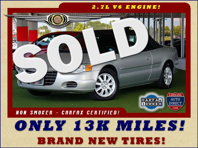 2004 Chrysler Sebring GTC - ONLY 13K MILES - BRAND NEW TIRES! Mooresville , NC 0