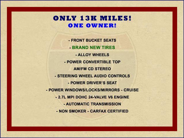 2004 Chrysler Sebring GTC - ONLY 13K MILES - BRAND NEW TIRES! Mooresville , NC 1