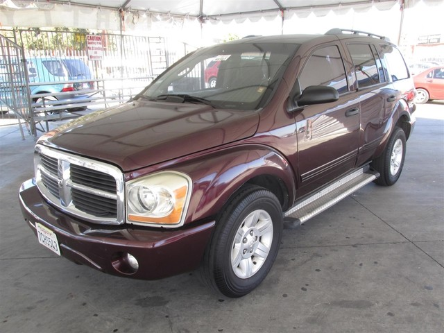 2004 Dodge Durango SLT This particular Vehicle comes with 3rd Row Seat Please call or e-mail to c