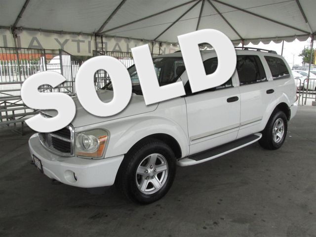 2004 Dodge Durango Limited This particular Vehicle comes with 3rd Row Seat Please call or e-mail