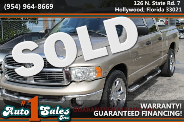 2004 Dodge Ram 1500 SLT  WARRANTY FLORIDA VEHICLE  If you are looking for a beautiful truc