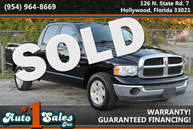 2004 Dodge Ram 1500 SLT  WARRANTY CARFAX CERTIFIED AUTOCHECK CERTIFIED 1 OWNERS 5 SERVICE R