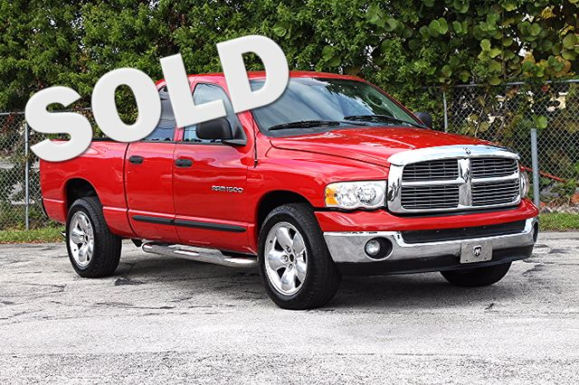 2004 Dodge Ram 1500 SLT  WARRANTY CARFAX CERTIFIED 7 SERVICE RECORDS FLORIDA VEHICLE TRADES