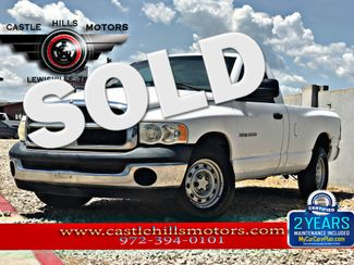 2004 Dodge Ram 1500 **INCLUDES 2 YRS FREE MAINTENANCE** ST - Engine Replaced, Work Truck! | Lewisville, Texas | Castle Hills Motors in Lewisville Texas