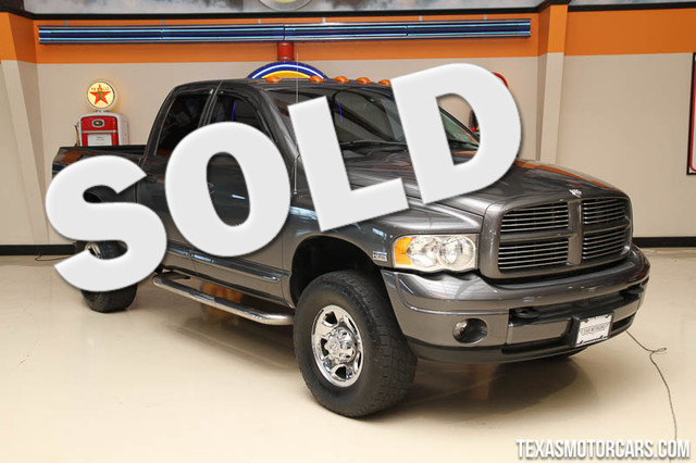2004 Dodge Ram 2500 SLT This 2004 Dodge Ram 2500 SLT is in great shape with only 133 087miles Th