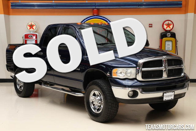 2004 Dodge Ram 3500 SLT This Clean Carfax 2005 Dodge Ram 3500 SLT is in great shape with only 156
