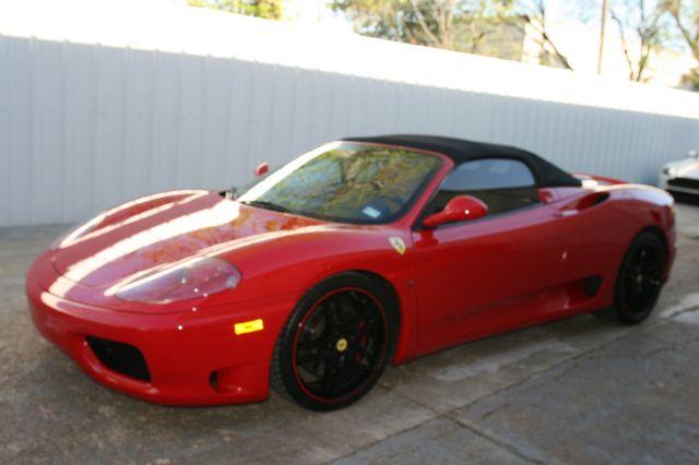 2004 Ferrari 360 Spider Houston, Texas 11