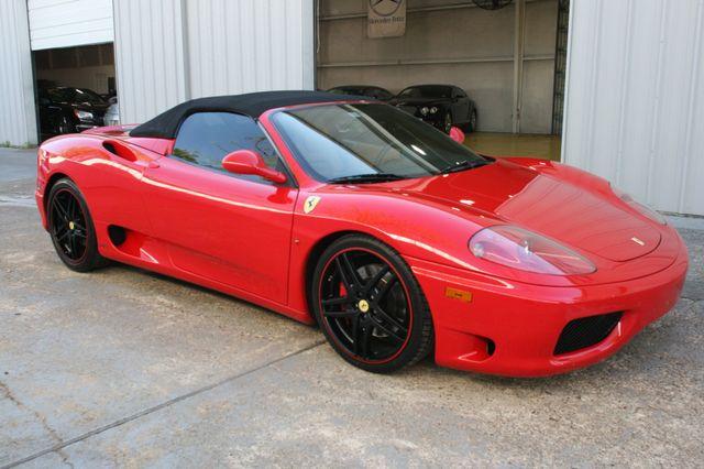 2004 Ferrari 360 Spider Houston, Texas 17