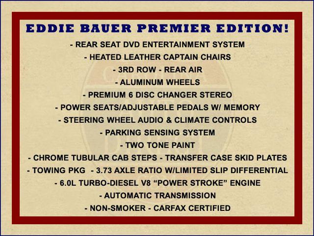 2004 Ford Excursion Eddie Bauer PREMIER 4X4 - TURBO DIESEL - REAR DVD! Mooresville , NC 1