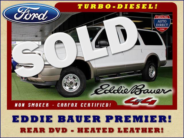 2004 Ford Excursion Eddie Bauer PREMIER 4X4 - TURBO DIESEL - REAR DVD! Mooresville , NC 0