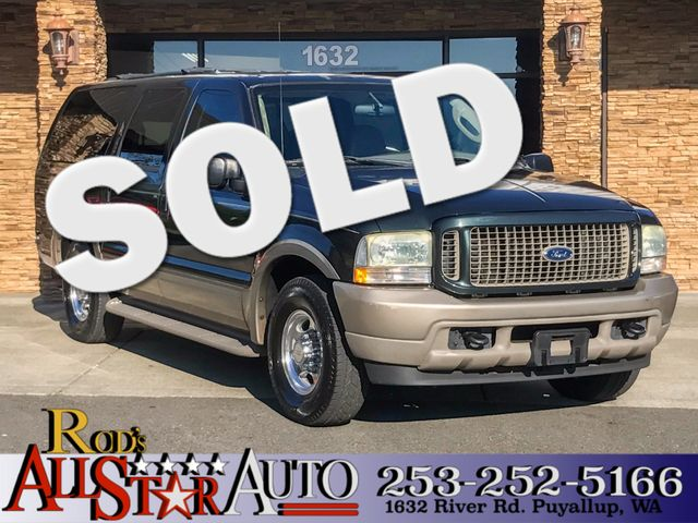 2004 Ford Excursion Eddie Bauer This vehicle is a CarFax certified one-owner used car Pre-owned v