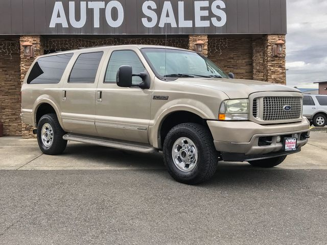 2004 Ford Excursion Limited 4WD Diesel This vehicle is a CarFax certified one-owner used car Pre-
