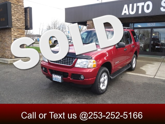 2004 Ford Explorer XLT Sport 4WD The CARFAX Buy Back Guarantee that comes with this vehicle means