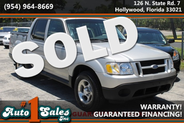 2004 Ford Explorer Sport Trac XLT  WARRANTY 3 OWNERS 5 SERVICE RECORDS FLORIDA VEHICLE T