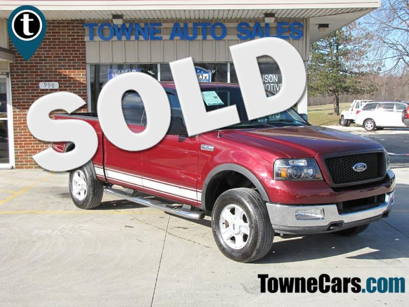 2004 Ford F150 XLT SUPERCREW | Medina, OH | Towne Cars in Medina OH