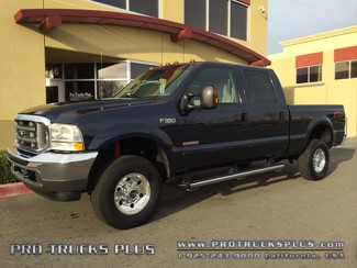 F350 Powerstroke Diesel 4x4  Ford 2004 XLT FX-4 Leather Crew Cab 1-Owner 53k Miles  in Livermore California