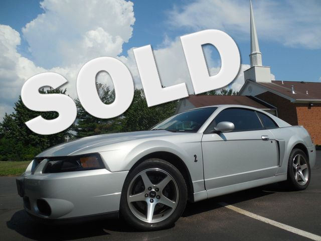 2004 Ford Mustang SVT Cobra Leesburg, Virginia 0